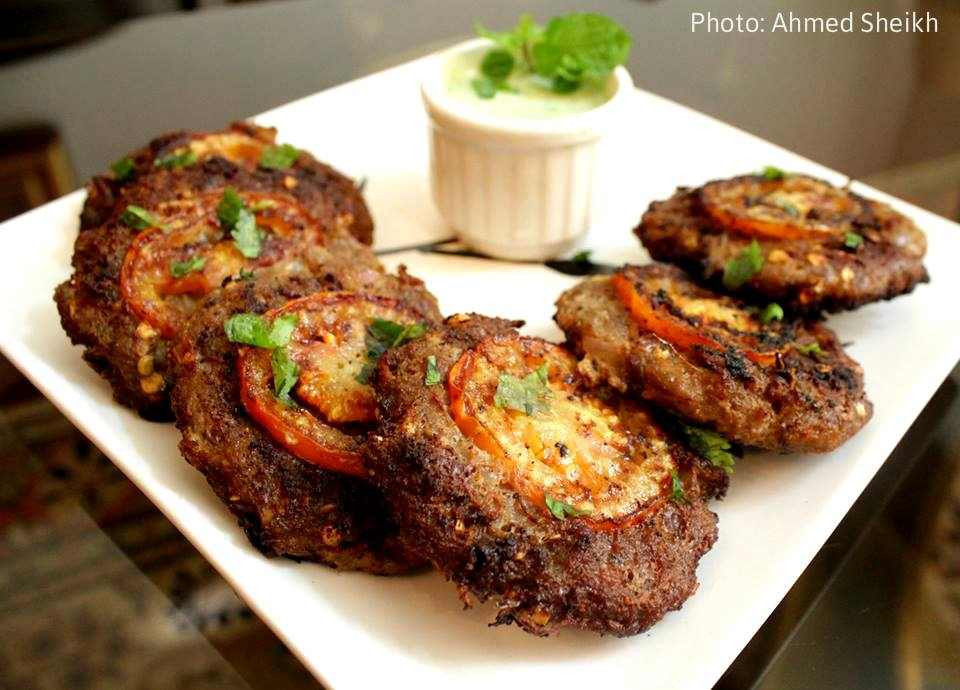 Beef Chappli kabab