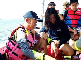 family trip pulau pari 140716 Fuji 059