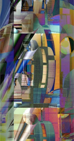 """The """"Cityscape 5"""" piece from the """"1999"""" collection"""