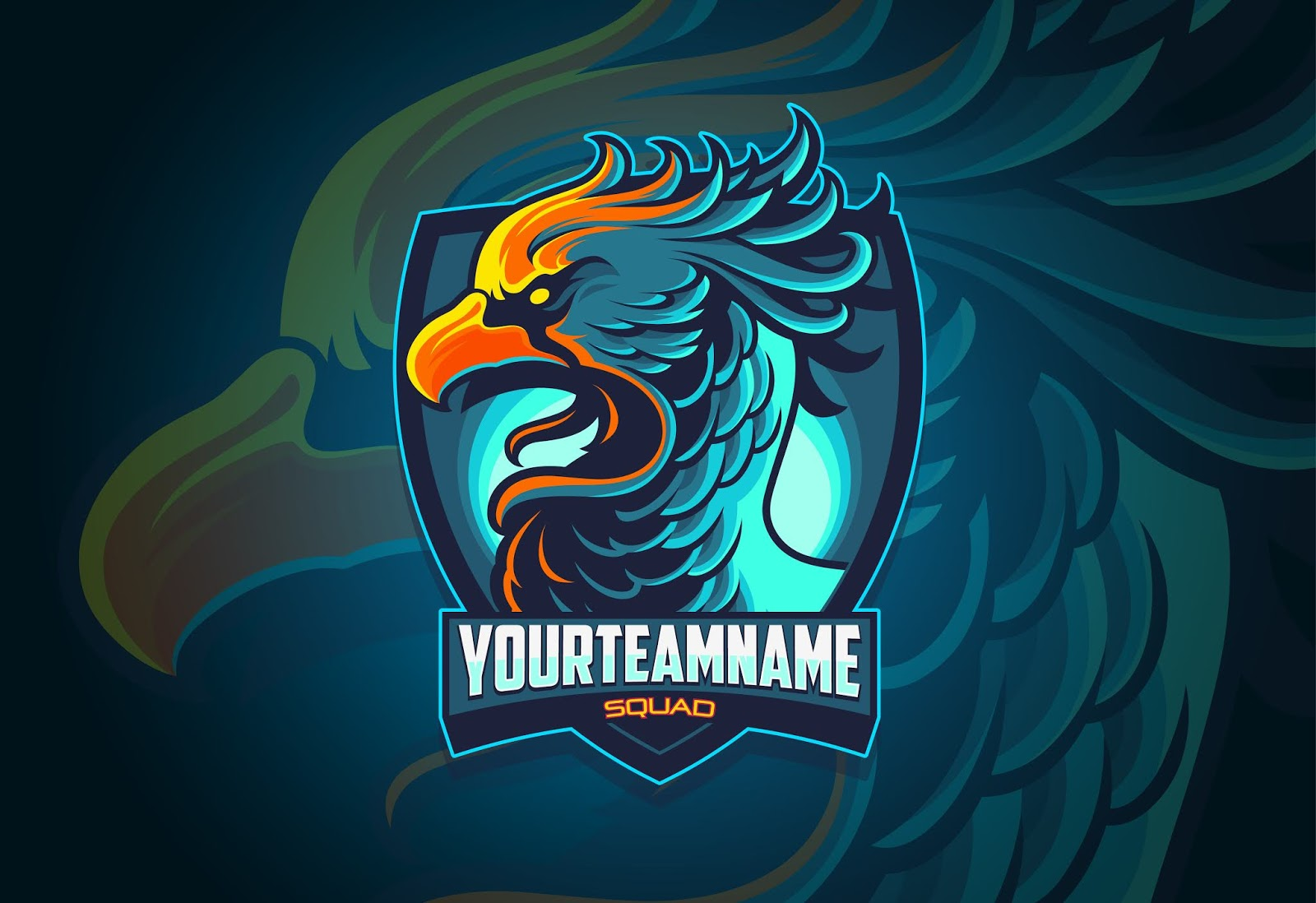 Phoenix Esports Logo Design Free Download Vector CDR, AI, EPS and PNG Formats