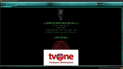 tv one, tvone di hacked