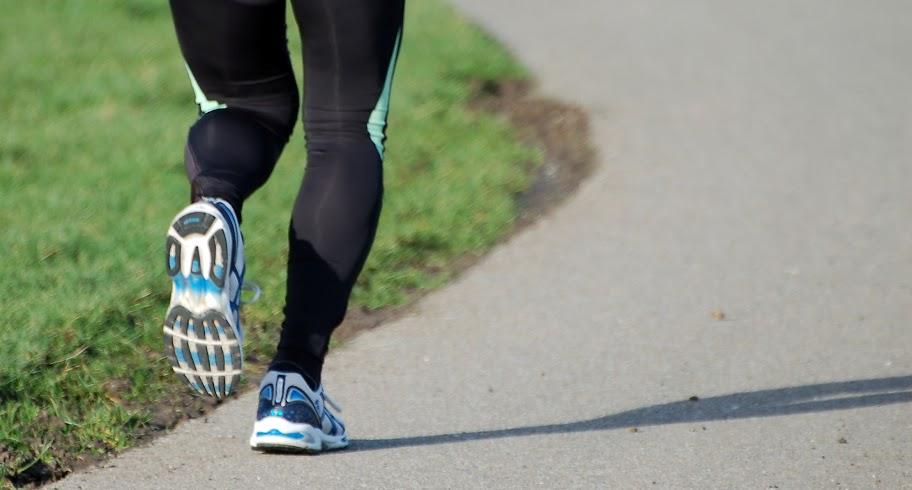 Exercício caminhada ou corrida