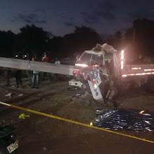 Mujer muere en accidente de tránsito en la carretera Azua-San Juan