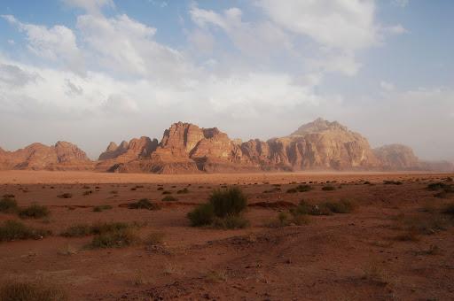 Иордания. Долина Wadi Rum