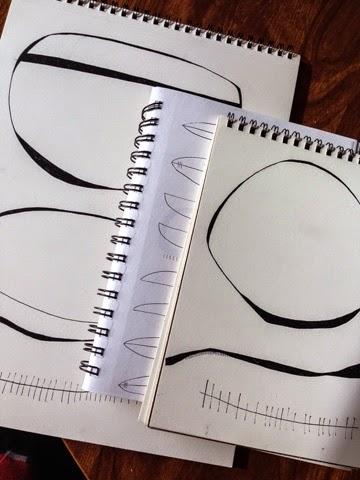 Rachel Loewens' sketches
