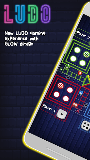Glow ludo - Dice game 1.0 screenshots 1