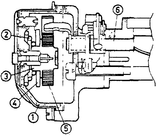 Схема полуавтоматического пускового устройства