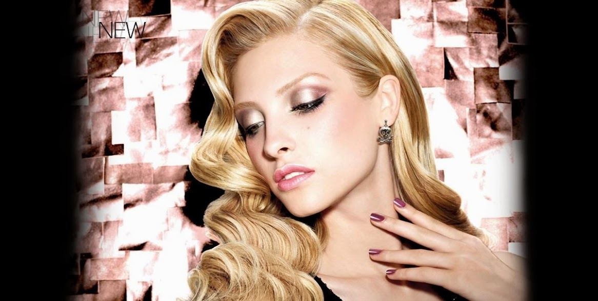Rock & romance, maquillaje con tonos metálicos…. muy románticos