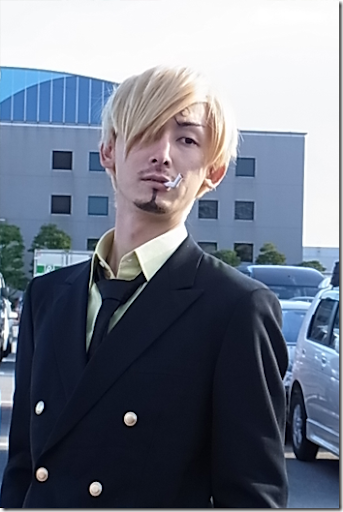 one piece cosplay - sanji 3 from winter comiket 2010