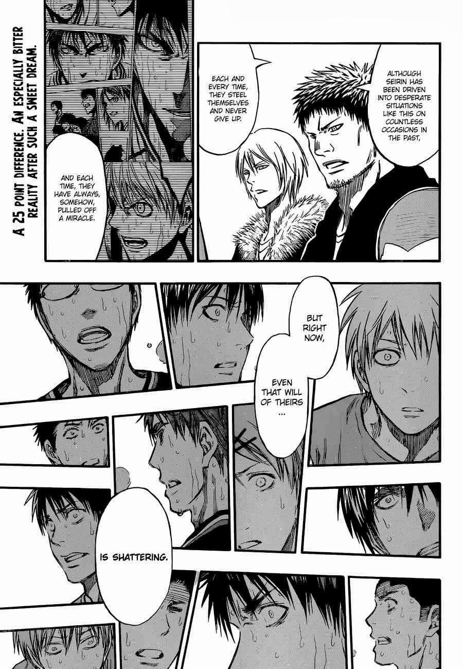 Kuroko no Basket Manga Chapter 246 - Image 01