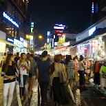 shopping in Hongdae in Seoul, Seoul Special City, South Korea