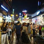 shopping in Hongdae in Seoul, Seoul Special City, South Korea