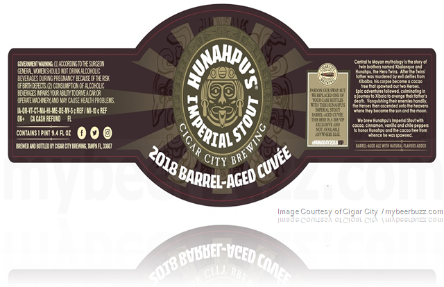 Cigar City - 2018 Hunahpu's Barrel-Aged Cuvée