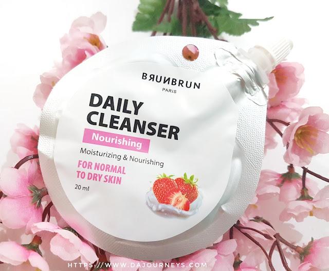 Review BrunBrun Paris Nourishing Daily Cleanser