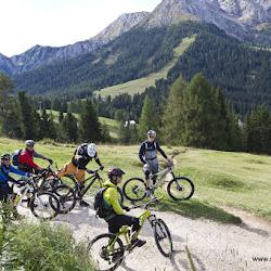 Tom Öhlers Fahrtechnikkurs Carezza Trail 20.09.16