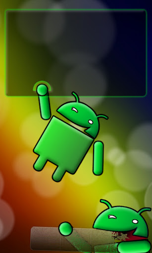 Color Bubbles Single Screen Dock Chomp 5 Android wallpaper by eyebeam