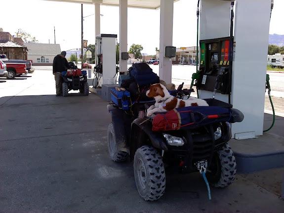 Fueling up in Ferron