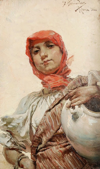 Daniel Hernández Morillo - The water carrier