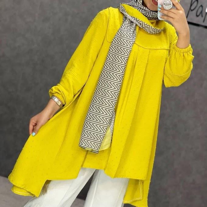 Latest Trending Fashion in Iran - Snowy Fabric