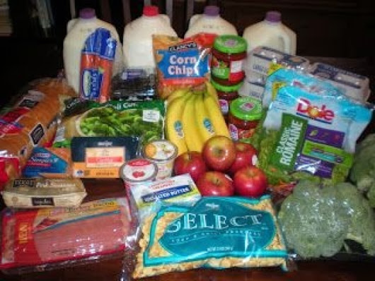 How I paid $3.37 for groceries without coupons