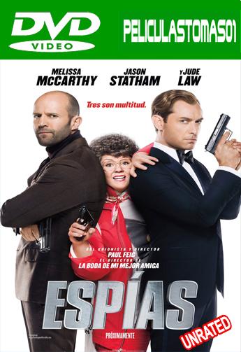 Espías (Spy: Una Espía Despistada) (Sin Censura) (2015) DVDRip