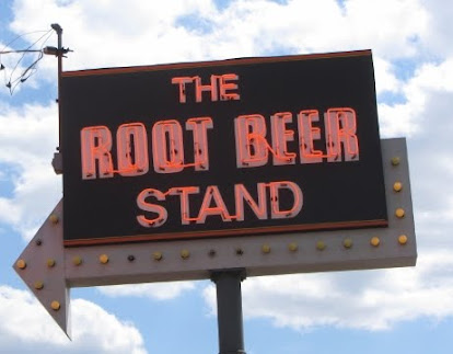 The Root Beer Stand Sign