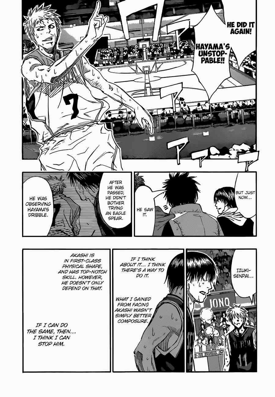 Kuroko no Basket Manga Chapter 253 - Image 15