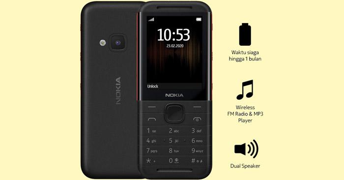 Nokia 5310 2020 Spesifikasi