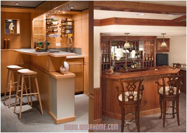 Desain Minibar Di Rumah Membuat Rumah Makin Elegan