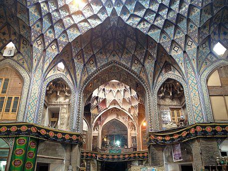 Bazar von Kashan
