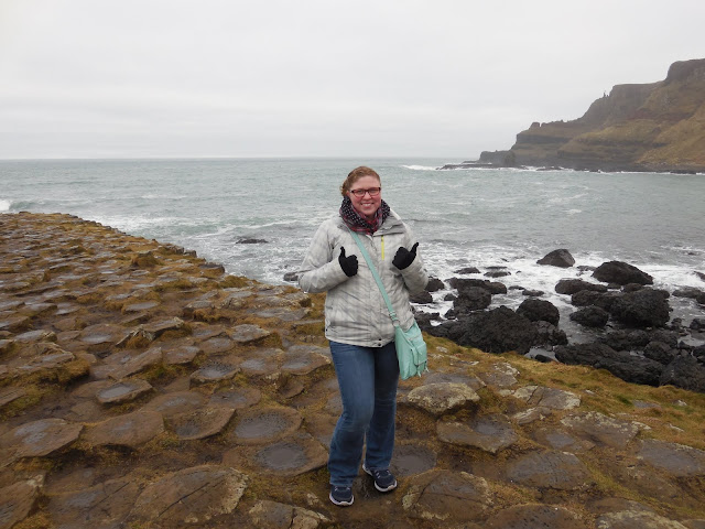 At Giant's Causeway, Ireland. Nicole Lottig: #StudyAbroadBecause... It will open up your mind to so many new things!