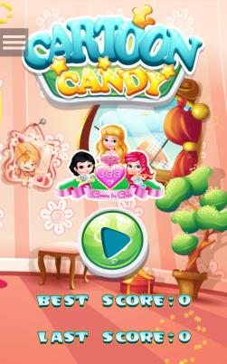 iphone webアプリ キャンディをなぞって消していくカンタンマッチ系