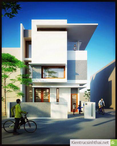 Ở mẫu nhà phố này bạn có cảm thấy dường như mọi chi tiết như hòa nhịp cùng phố phường không?