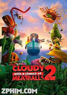 Cơn Mưa Thịt Viên 2 - Cloudy with a Chance of Meatballs 2 (2013) Poster
