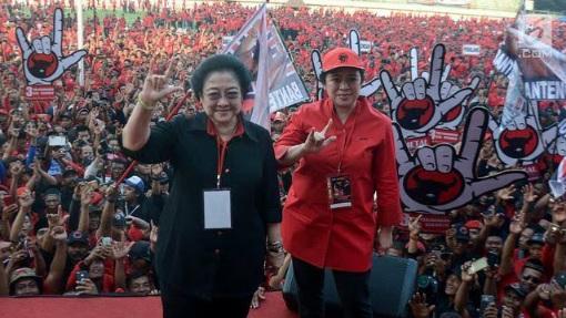 Survei Membuktikan! PDIP Masih Jadi Partai Idaman Rakyat