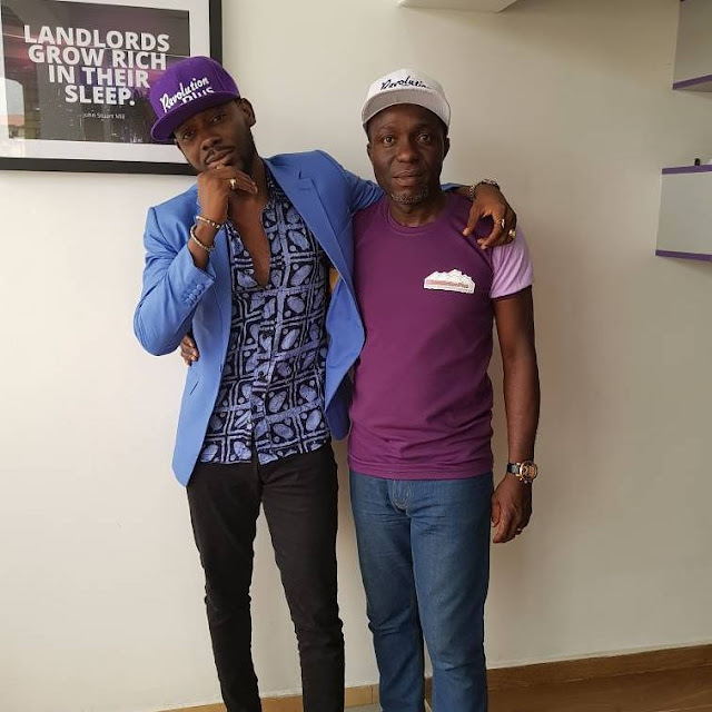 Adekunle Gold Signs Multimillionaire Deal with Real Estate Company, Becomes Brand Ambassador (Photos)