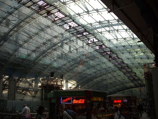 フランクフルトDBの駅