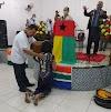 Laís ferreira em culto de envio é oficialmente apresentada para viagem missionária a Guiné-Bissau(Africa)