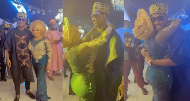 'Good to see you, sweetheart' Actress Mide Martins shares rare moment with Jude Ighalo at Yetunde's wedding [Video]