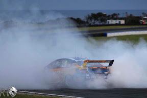 Will Davison celebrates his win at Phillip Island PHOTO: Ford Performance Racing