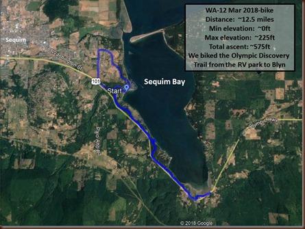 Sequim WA - Bike - 12 Mar 2018