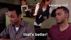 Sample subtitled video