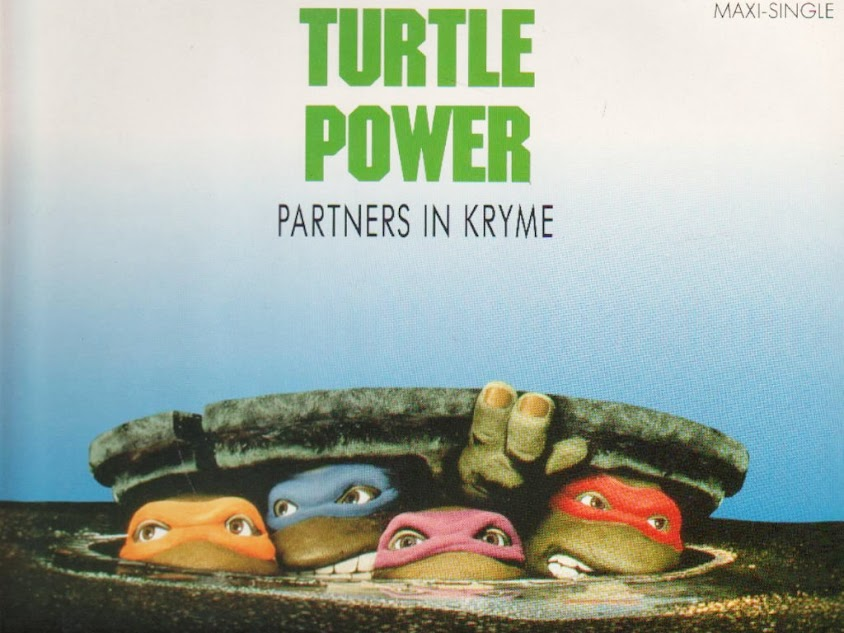 Turtle Power by Partners in Kryme - single cover
