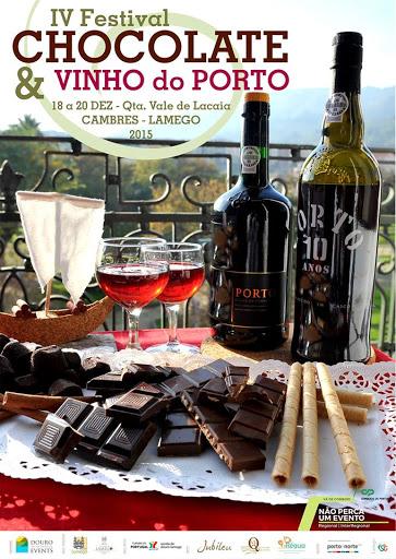 IV Festival de Chocolate e Vinho do Porto - Lamego - 18 a 20 de Dezembro de 2015