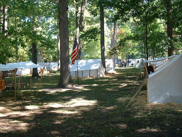 Rutherford B . Hayes Civil War Encampment - 2002_1005_130628AA.JPG
