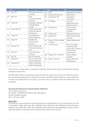 NCA Press Release shutting down 49 TV Stations page 2