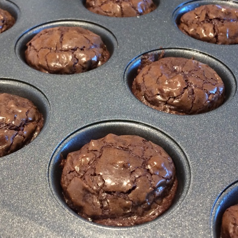 baked brownie bites