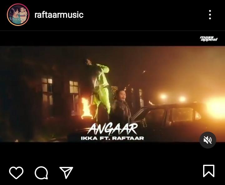"""Angaar""- Ikka Feat. Raftaar Out Now!"
