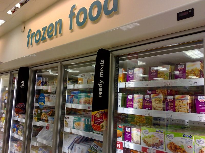 conventional frozen meals