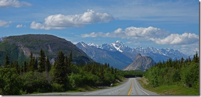 Chugach Mountain Range, Glenn Highway between Glennallen and Palmer